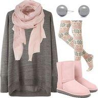 Comfy fall wear