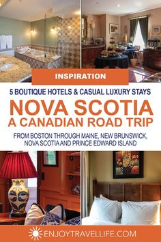 Road Trip to Nova Scotia: 5 Great Places to Stay (and Eat) - Enjoy Travel Life Travel Tips, Travel Destinations, Travel Advice, Travel Guides, London Big Ben, Road Trip Hacks, Road Trips, Canadian Travel, Atlantic Canada