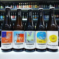 New Beers. The new Spring / Summer Range from @cloudwaterbrew including Citra IPA in stock now
