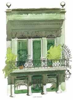 Calle Amargura, Havana, Cuba copyright © Estate of Paul Hogarth