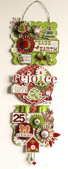 christmas banner paper crafts Pinterest Merry christmas - christmas decors