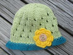 GLEN ARBOR Baby Hat Leelanau Up North by UpNorthKnitsAndGifts