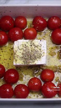 Good Food, Yummy Food, Delicious Pasta Recipes, Veggie Pasta Recipes, Pasta Meals, Veggie Food, Tasty, Feta Cheese Recipes, Vegan Cheese