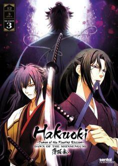 Hakuoki Season 3: Dawn of the Shinsengumi DVD Collection (Hyb) #RightStuf2013