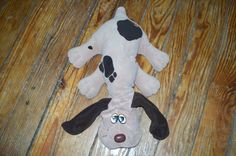Pound Puppies- My husband of 25 years gave me this guy on our first dating Christmas! I still have him!