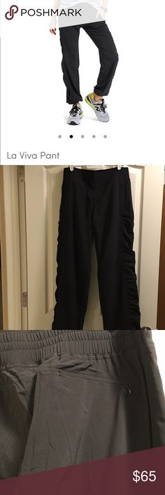 """Athleta La Viva Pant - New w/o Tag Athleta La Viva Pant - New without Tag. Never worn, they are too short for me (I'm 5' 9""""). These are lined. Athleta Pants Track Pants & Joggers"""