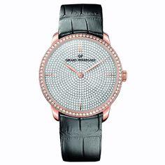 #GirardPerregaux 1966 Rose Gold & #Diamonds #Watch