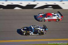 Corvette DP vs. Porsche 911 GT America