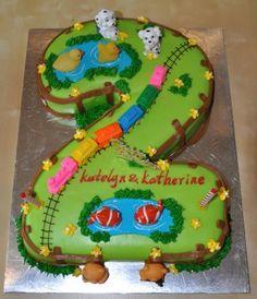 Such a cute idea for a farm animal theme....I really like the fence boarder.