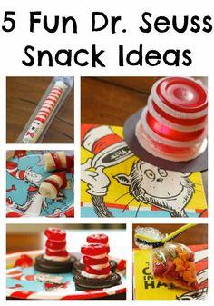 5 Fun Snacks For Celebrating Dr. Seuss