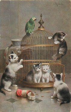 Cats by Carl Reichert