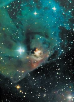 NGC 1360 is a planetary nebula in the constellation of Fornax. It is about 1145 ly from Earth. It was identified as a planetary nebula due to its radiation in the OIII (oxygen) bands. Reddish matter, believed to have been ejected from the original star before its final collapse, is visible in images.