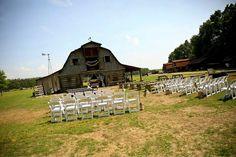 Our rustic wedding venue