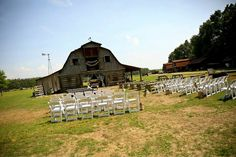 Our rustic wedding venue