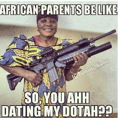 african parents and dating