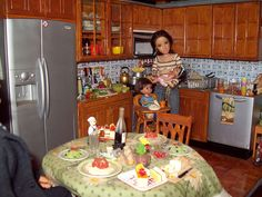 Kenmore Kitchen repaint with Re-ment | Flickr - Photo Sharing!