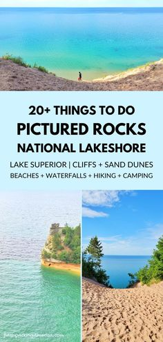 michigan road trip to great lakes. best places to visit in the midwest. hiking trail and beach. national park. hiking, camping, campground, backpacking. backcountry. us outdoor travel destinations. vacation spots, ideas, places in the US. michigan things to do upper peninsula up north. US outdoor vacation road trip midwest from wisconsin, chicago, minnesota, illinois, indiana, ohio