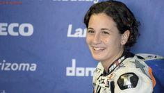 La murciana Ana Carrasco, primera mujer en ganar una carrera del Mundial de motos