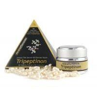 AminoGenesis Tripeptinon Facial Lift, 40 Caps by AminoGenesis. $44.25. AminoGenesis Tripeptinon Facial Lift aids in the production of collagen and elastin, while deeply hydrating and nourishing the skin. Formulated to regulate sebum, diminish discoloration caused by sun damage, increase and bind moisture and give skin an all-over, healthy, smooth texture.