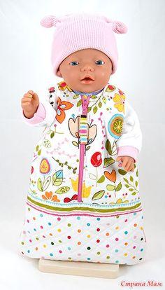 Одежки для BABY born - Гардероб для куклы - Страна Мам Sewing Doll Clothes, Sewing Dolls, Girl Doll Clothes, Girl Dolls, Baby Dolls, Diy Clothes, Baby Born Clothes, Bitty Baby Clothes, Doll Sewing Patterns