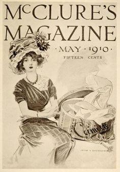 1913 McClure's Cover Frank x Leyendecker Mini Poster