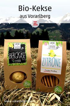 Bio-Kekse aus Vorarlberg: nachhaltig produziert, ausschließlich aus gesunden Bio-Produkten hergestellt, süß und auch pikant – und natürlich schmecken sie köstlich! Gourmet, Organic Cookies, Handmade Chocolates, Handmade