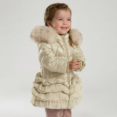 3 Colors Girls Winter White Duck Down Padded Coat Baby Winter, Winter White, Kids Winter Jackets, Feather Coat, Duck Down Jacket, White Ducks, Down Parka, Red And Pink, Winter Fashion