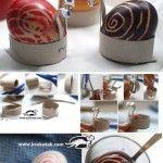 Easter snails