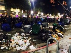 Overnight Protesters Destroy Berkeley Because They Want Peace