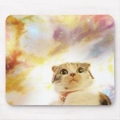 Shop Galaxy Cat Floating In Space Mouse Pad created by Stark_Raving_Realist. Floating In Space, Galaxy Cat, Cat Mouse, Custom Mouse Pads, Dog Memes, Pet Gifts, Cat Art, Floral Watercolor, Cute Animals