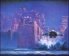 John Harris Science Fiction Concept Art