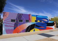 new by MOMO in Palm Springs, CA, 4/15 (LP) #streetart jd