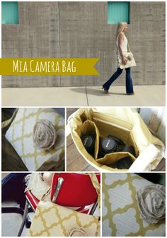 Say hello to my new camera bag I just ordered!! <3   The Mia Camera Bag Jeanne Oliver Designs