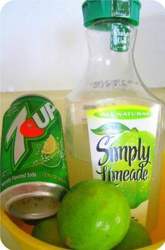 Totally Delicious Lime Slush