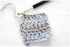 How to Make Extended Double Crochet Stitch