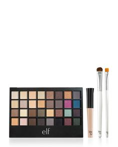E.L.F. Eyes Lips Face 32-Color All About Eyes Palette Set - GoGetGlam