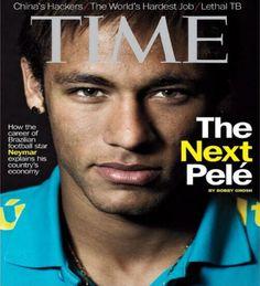 """Neymar é chamado de """"novo Pelé"""" por revista americana"""