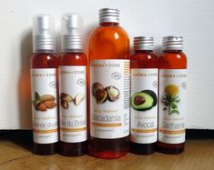 Sélection, pour nourrir les cheveux fins et bouclés, de 5 huiles végétales.