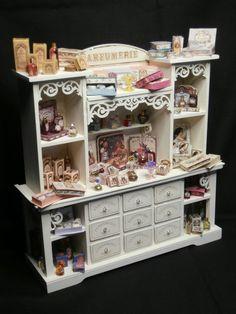 Dollhouse Miniature Perfume Cabinet