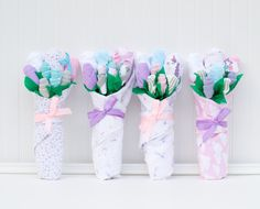 Your place to buy and sell all things handmade Gifts For Newborn Girl, Baby Girl Gifts, Gifts For Girls, Birthday Surprises For Him, Baby Bouquet, Baby Washcloth, Unicorn Baby Shower, Baby Gift Sets, Receiving Blankets