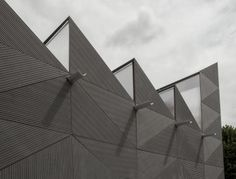 Clerkenwell Design Week, London 2014. ¨Smith¨ pavillion by Studio Weave, clad with a new facade material, EQUITONE [linea]. #design #architecture #clerkenwell www.equitone.com