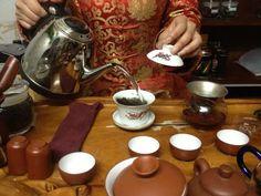 Tea making in China