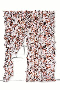 Would I spend $100 on curtains?   Maybe.   The more the curtains look like these, the better the chances are.