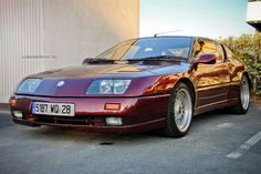 Renault Alpine GTA V6 Turbo Le Mans