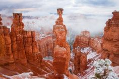 Early Snow, Thor's Hammer Photo by Laura Zirino -- National Geographic Your Shot