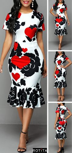 Short African Dresses, Latest African Fashion Dresses, African Print Fashion, Women's Fashion Dresses, African Dress Styles, Ankara Styles, Classy Work Outfits, Classy Dress, Trendy Outfits