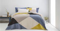 Bloco 60 x Patchwork Cushion, Multi