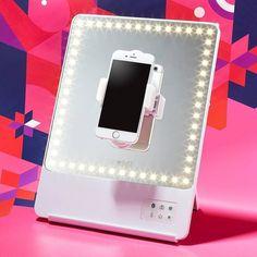 GLAMCOR RIKI Skinny - Smartspegel LED med selfie funktion