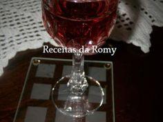 Receita outro : Licor de morango de Romy