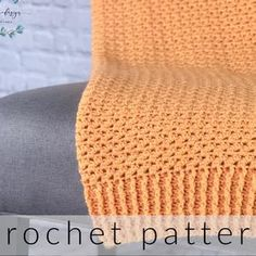 Crochet Baby Blanket Pattern Crochet Afghan Pattern Crochet | Etsy Crochet Slipper Pattern, Afghan Crochet Patterns, Crochet Slippers, Hexagon Crochet, Crochet Afghans, Beginner Crochet Tutorial, Crochet Basics, Crochet For Beginners, Baby Blanket Crochet